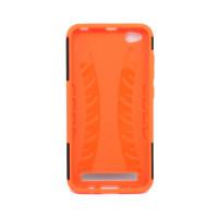 Чехол для Xiaomi Redmi 5A из ТПУ и пластика противоударный оранжевый