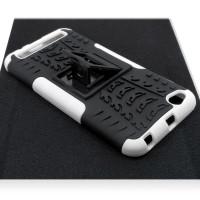 Чехол для Xiaomi Redmi 5A из ТПУ и пластика противоударный белый