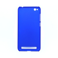 Чехол-накладка для Xiaomi Redmi 5A из прорезиненного пластика синий