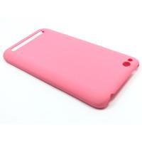 Чехол-накладка для Xiaomi Redmi 5A из прорезиненного пластика розовый