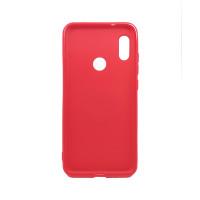 Чехол-бампер для Xiaomi Redmi 6 Pro / Mi A2 lite  из ТПУ-резины с  кольцом красный