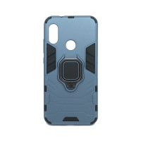 Redmi 6 Pro / Mi A2 lite гибридный с кольцом синий