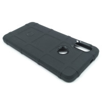 Чехол для Xiaomi Redmi Note 5 из ТПУ-резины  Rugged Shield черный