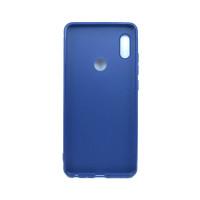 Чехол для Xiaomi Redmi Note 5 из ТПУ-резины матовый синий