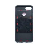 Чехол для Xiaomi Mi 5X / Mi A1 из ТПУ и пластика с кольцом красный