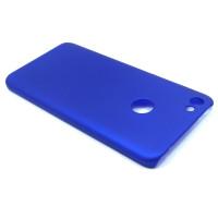 Чехол-накладка для Xiaomi Redmi Note 5A Prime из прорезиненного пластика синий