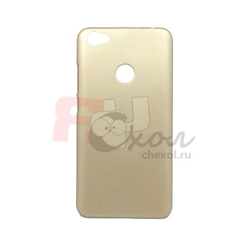 Чехол-накладка для Xiaomi Redmi Note 5A Prime из прорезиненного пластика золото