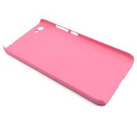 Чехол-накладка для Xiaomi Redmi Note 5A Standart из прорезиненного пластика розовый