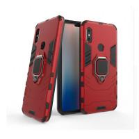 Redmi Note 6 pro гибридный с кольцом красный