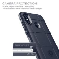 Чехол-бампер для Xiaomi Redmi Note 6 pro  (6,25'') из ТПУ-резины Rugged Shield navy