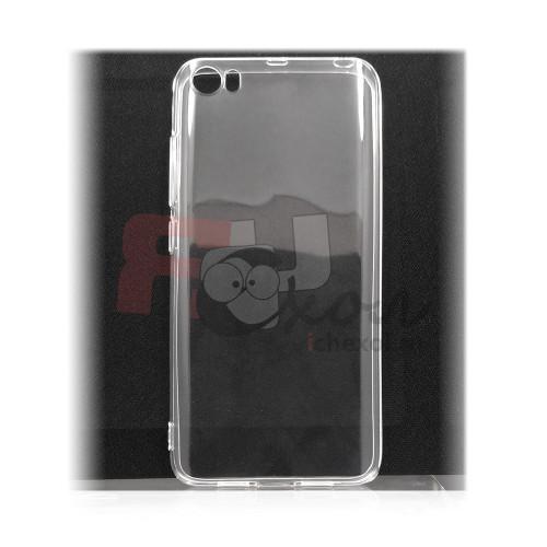 Чехол для Xiaomi Mi 5 из силикона прозрачный