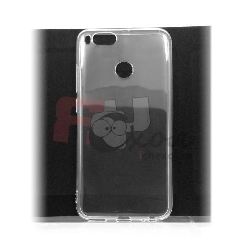 Чехол для Xiaomi Mi 5X / Mi A1 из силикона прозрачный