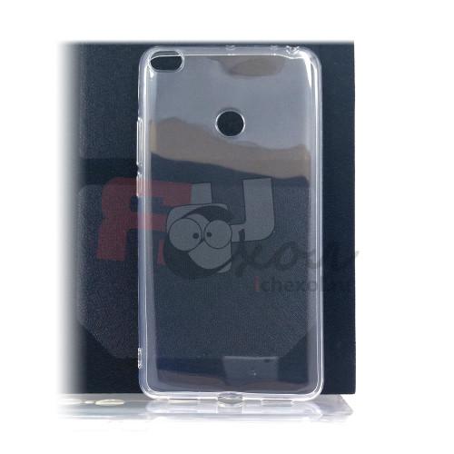 Чехол для Xiaomi Mi Max 2 из силикона прозрачный