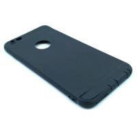 Чехол для iPhone 6/6S Plus (ТПУ) тонкий матовый черный