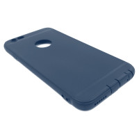 Чехол для iPhone 6/6S (ТПУ) тонкий матовый темно-синий