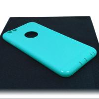 Чехол для iPhone 6/6S (ТПУ) тонкий матовый бирюзовый